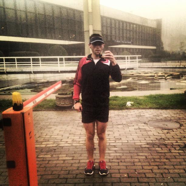 Після одного з тренувальних забігів на 21 км