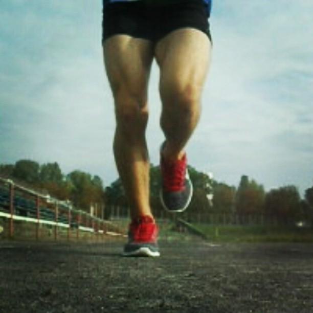 Фрагмент із відеозапису мого бігу